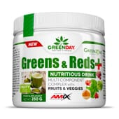 GREENS & REDS + 250g de Amix Greenday