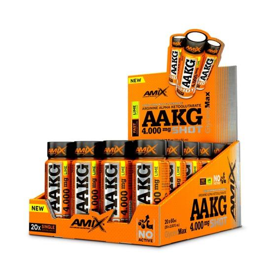 AAKG SHOT 4000mg 20 Viales de 60ml de Amix Nutrition