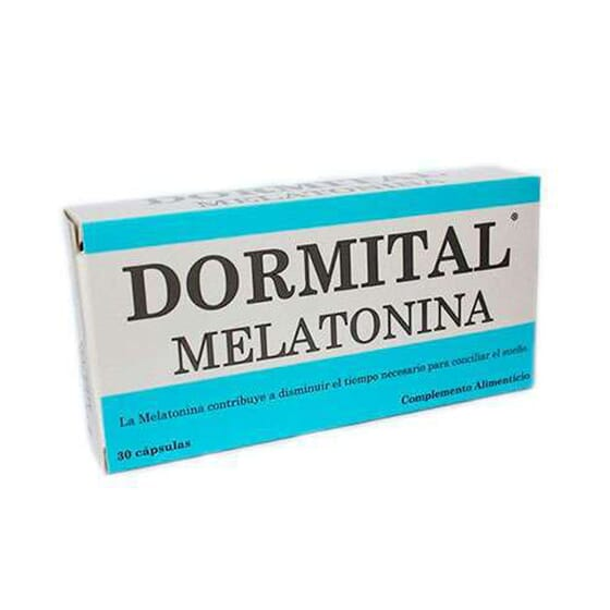 DORMITAL MELATONINA 30 Caps