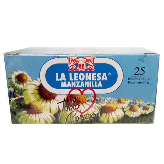 CAMOMILA LA LEONESA 25 x 1g da Manasul.