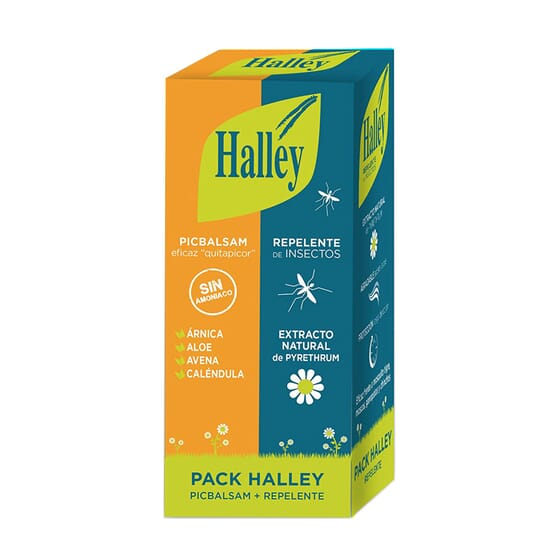 HALLEY PICBALSAM 40ml + REPELENTE 150ml