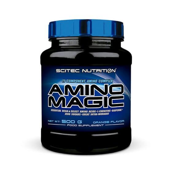 Amino Magic favorise le développement et le maintien des muscles ainsi que les performances spor