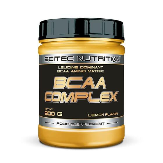 BCAA Complex contient des acides aminés ramifies, de la glutamine et de la vitamine B6.