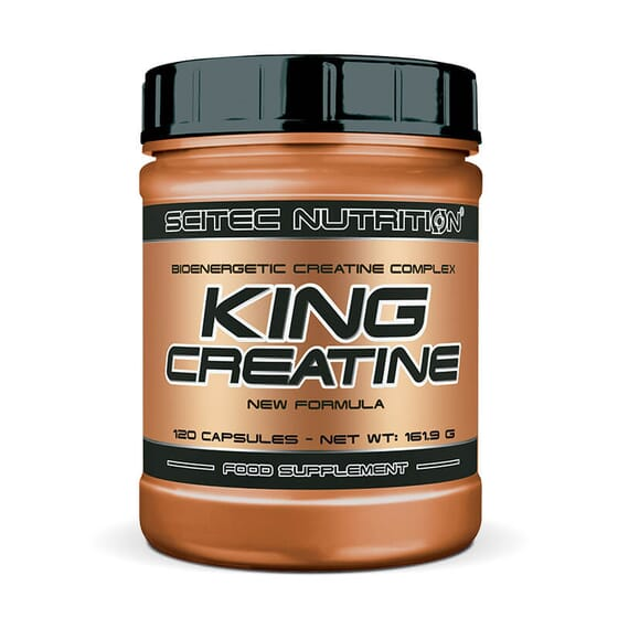 King Creatine est un complexe à base de créatine et d'acides aminés conçu pour augmenter l'inten