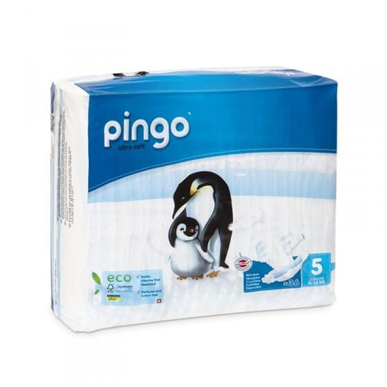 FRALDAS BIO T5 12-25 KG 2 x 36 Unds da Pingo