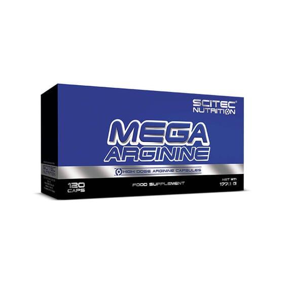 Mega Arginine est une formule contenant de l'arginine pour réduire la fatigue musculaire.