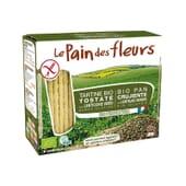 Pan Crujiente Bio Con Lentejas Verdes Sin Gluten 150g de Le Pain Des Fleurs