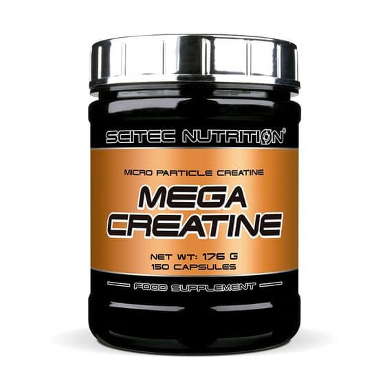 Mega Creatine est une formule créée à partir de créatine micronisée qui renforce le développemen