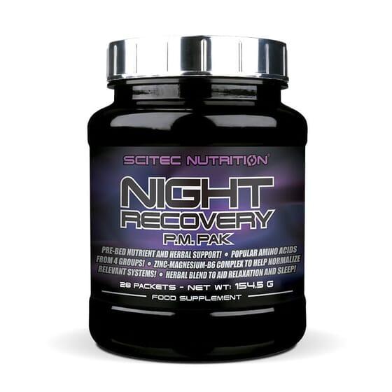 NIGHT RECOVERY 28 Unités de Scitec