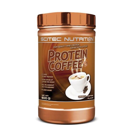 Protein Coffee apporte un apport supplémentaire de protéines et d'énergie.