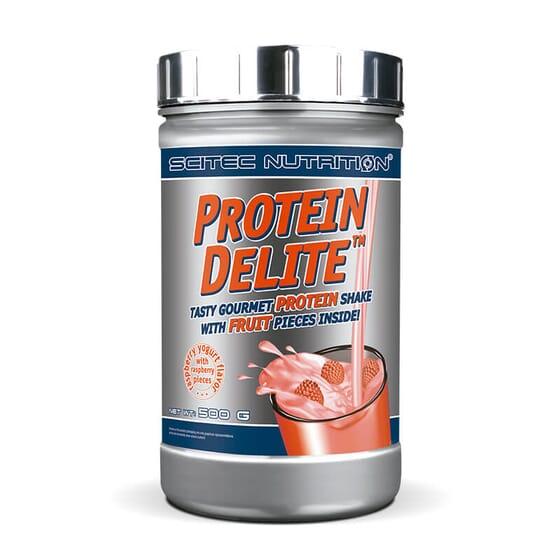 Protein Delite est un shake de protéines qui favorise le développement et le maintien de la musc