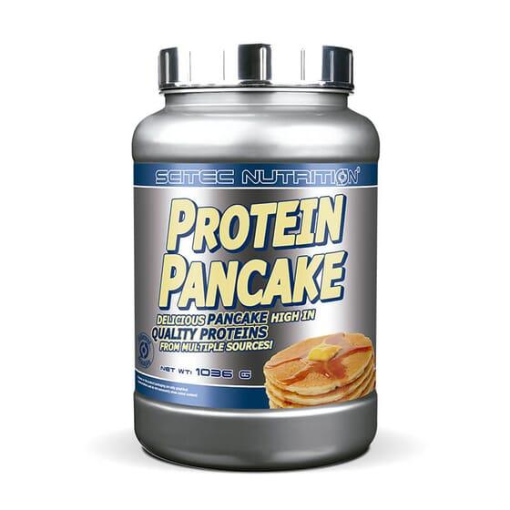 Protein Pancake est une préparation à la farine d'avoine pour réaliser des pancakes.