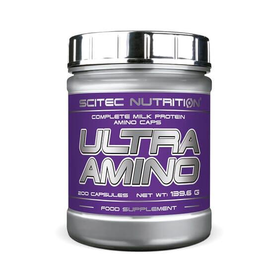 Ultra Amino contribue à accélérer la régénération des musculaire et à développer la masse muscul