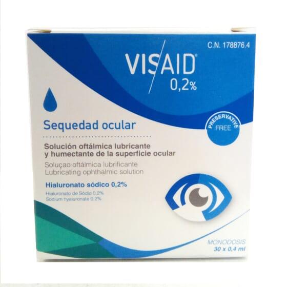 VISAID 0,2 % GOTAS OCULARES MONODOSE 30 Un x 0,4ml