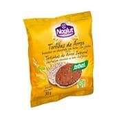 TORTITAS DE ARROZ CHOCOLATE COM LEITE NOGLUT 30g 2 Unds da Santiveri