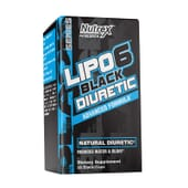 LIPO 6 BLACK DIURETIC 80 Caps de Nutrex.