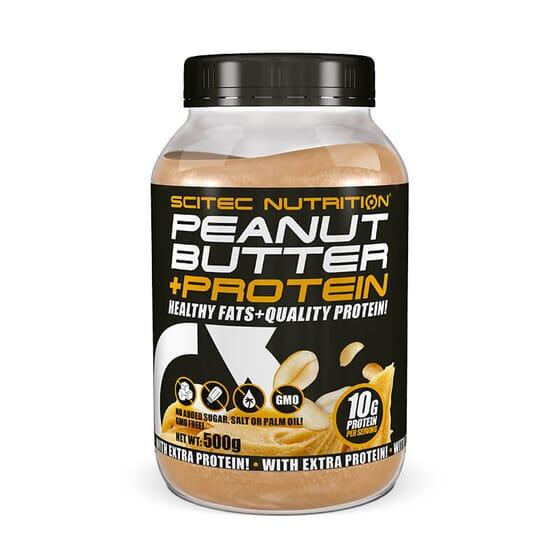 Peanut Butter + Protein est une crème délicieuse qui favorise le développement de la masse muscu
