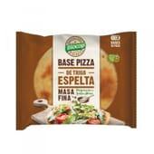 BASE DE PIZZA DE ESPELTA MASA FINA 3 Ud de Biocop.