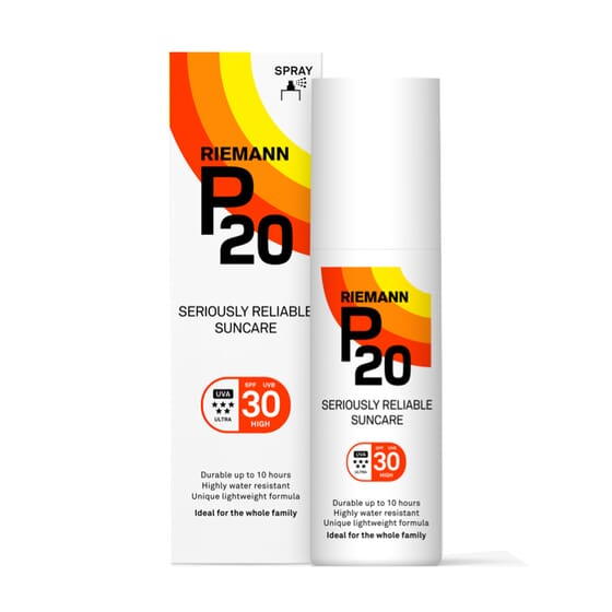 PROTECTION SOLAIRE SPRAY SPF30 100 ml de Riemann P20