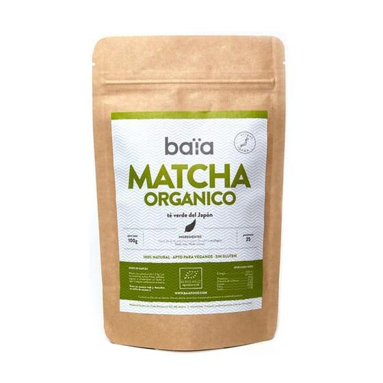 MATCHA ORGÂNICO 100g da Baïa Food.