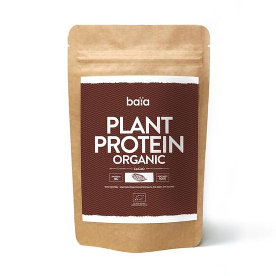 Plant Protein Organic Cacau  500g de Baiafood
