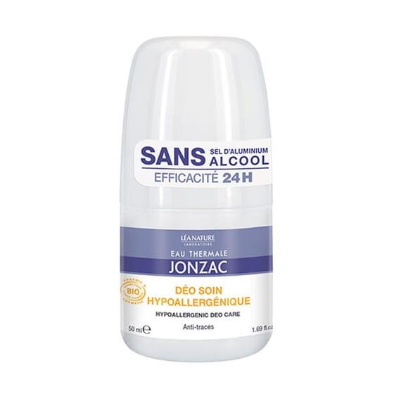 DESODORIZANTE HIPOALERGÉNICO 24H ROLL-ON 50ml da Jonzac