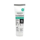 SENSITIVE DENTIFRICE MENTHE FORTE 75 ml de Urtekram