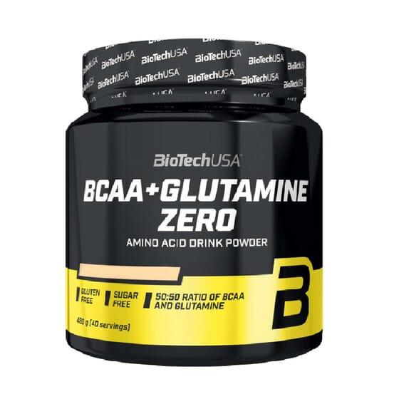 BCAA + GLUTAMINE ZERO 480g da Biotech USA