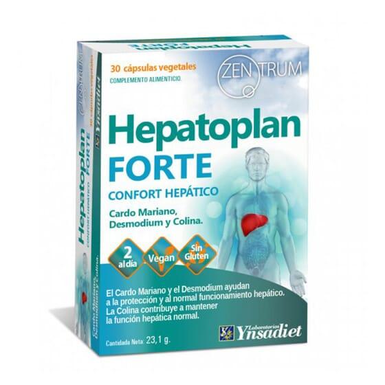 ZENTRUM HEPATOPLAN FORTE 30 VCaps da Ynsadiet