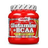 GLUTAMINA + BCAA 300g de Amix Nutrition.