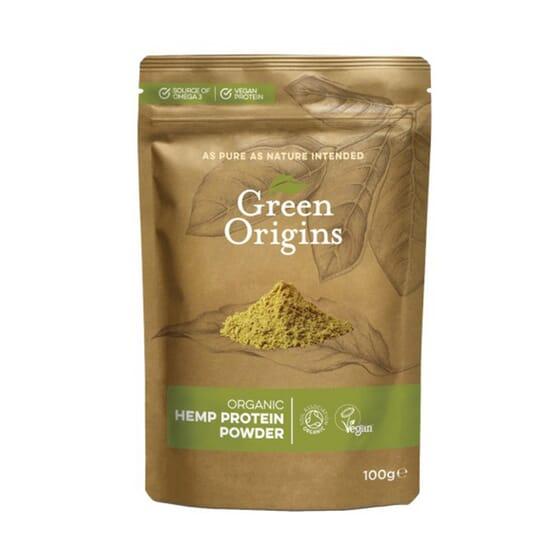 ORGANIC HEMP PROTEIN 100g da Green Origins.