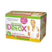 MEGA DRENA-DETOX 6 Víales de 30ml de Pinisan.