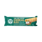 The Low Sugar Cereal Bar 16 x 30g di Gold Nutrition
