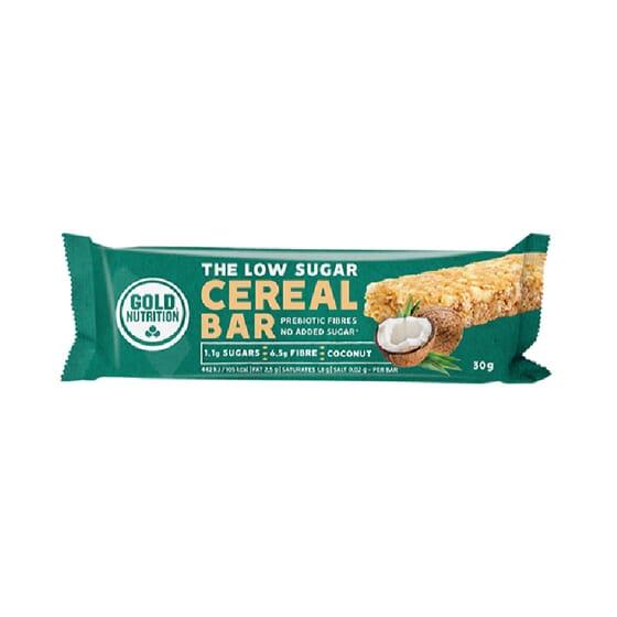 The Low Sugar Cereal Bar 16 x 30g de Goldnutrition
