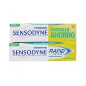 Sensodyne Rapid Action Fresh Mint Pack Éco 75 ml 2 Unités de Sensodyne