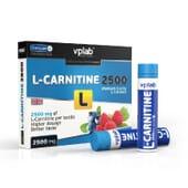 L-CARNITINE 2500 7 Viales de 25ml de VPLAB Nutrition