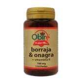 BORRAGEM E ONAGRA 500MG 110 Pérolas da Obire