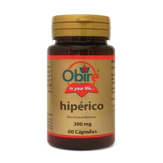 HIPERICÃO 300MG 60 Caps da Obire.