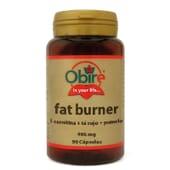 FAT BURNER L-CARNITINA Y TÉ ROJO 495MG 90 Caps de Obire.