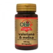 VALERIANA Y MELISA 400MG 60 Caps de Obire.
