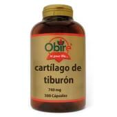 CARTÍLAGO DE TIBURÓN 740MG 300 Caps de Obire.