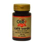 CAFÉ VERDE 200MG 60 Caps de Obire.