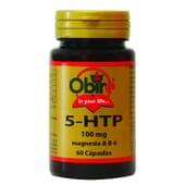 5-HTP + MAGNESIO + B6 100MG 60 Caps de Obire.