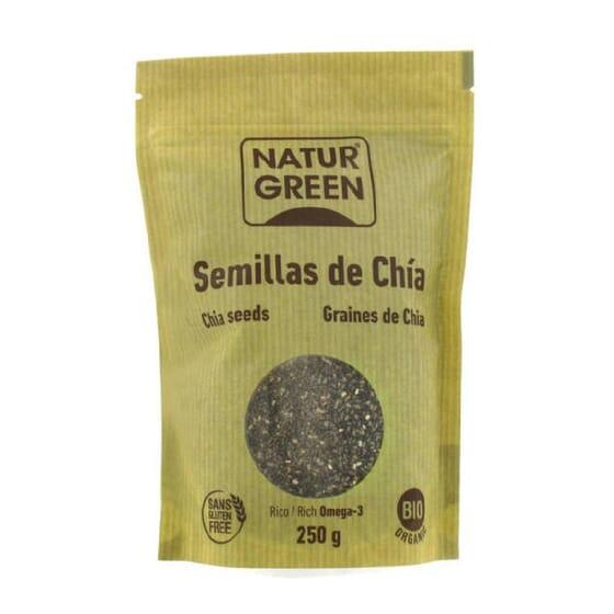 Semillas De Chía Bio Sin Gluten 250g de NaturGreen