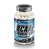 BCAAs + GLUTAMINE 800 130 Caps da IronMaxx.
