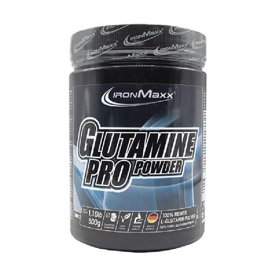GLUTAMINE PRO POWDER 500g de IronMaxx.