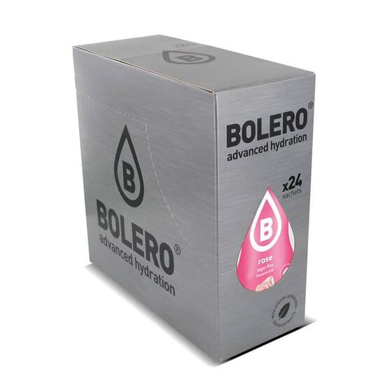 Boisson faible en calories de rose à la stevia de Bolero