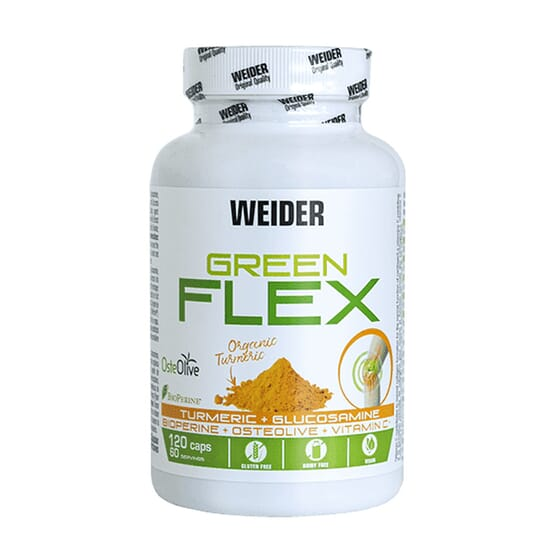 GREEN FLEX 120 Caps de Weider