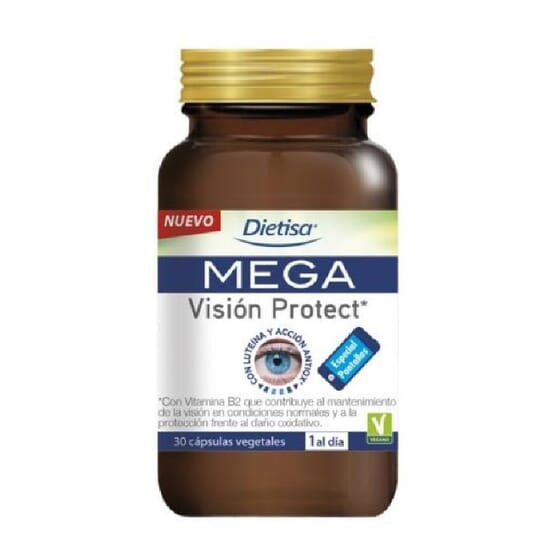 MEGA VISIÓN PROTECT 30 Caps de Dietisa
