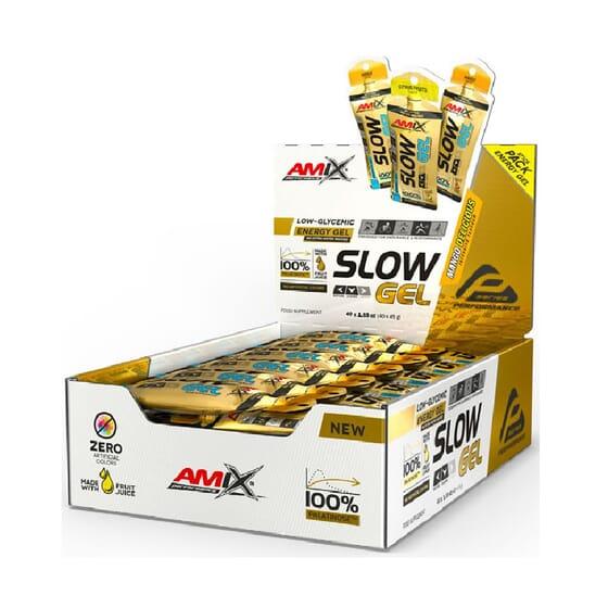 SLOW GEL 40 Géis de 45g da Amix Performance